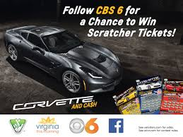 cbs 6 corvette scratcher giveaway official rules wtvr com