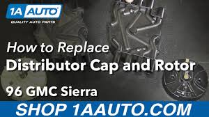 lexus v8 rotor how to install replace distributor cap rotor 1996 99 gmc k1500 v8