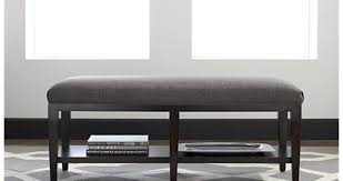 White Bedroom Benches With Storage Padded Bench For Bedroom Belham Living Cushioned Indoor Bench