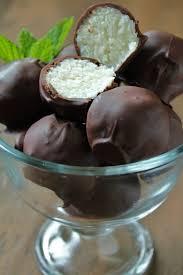 delicious as it looks dark chocolate coconut truffles