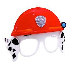 paw patrol halloween amazon com paw patrol marshall mask sunglasses marshall