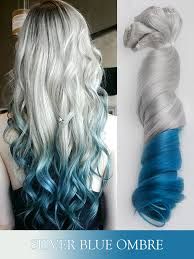 silver hair extensions silver series colorful clip in c011 c011 vpfashion