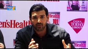 john abraham reveals fitness secret men u0027s health magazine launch