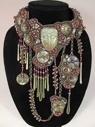 collar bib necklace images 1102 best bead embroidery necklace collar bib images on jpg