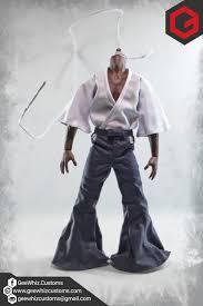 afro samurai geewhiz customs custom 1 6 scale afro samurai clothing