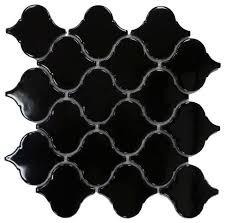 arabesque ceramic mosaic tile 10 25 x 10 50 mediterranean