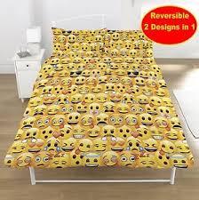 Octonauts Bed Set New Emoji Duvet Quilt Cover Bedroom Set Boys