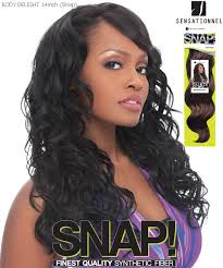 snap hair sensationnel snap synthetic weave hair