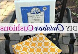 how to make patio chair cushions warm how to make a no sew