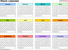 blank calendar 9 free printable microsoft word templates tem saneme
