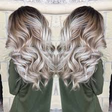 Best Hair Color To Hide Gray Bayalage Icy Blonde Perfect Natural Color Http Noahxnw