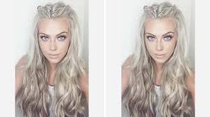 hair tutorial festival hair tutorial chloe boucher youtube