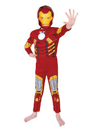 ironman halloween costume child licensed iron man deluxe fancy dress costume kids boys 3 8