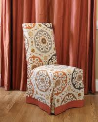 Dining Room Chair Covers Parson Chair Slipcovers To Complete The Dining Room Chairs