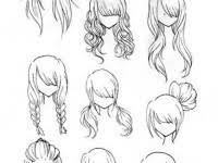 anime hairstyles tutorial to draw anime tutorial with beautiful anime character drawings