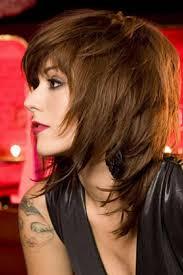 easy shag long hair best shag haircuts ideas for mid length hair with side bangs
