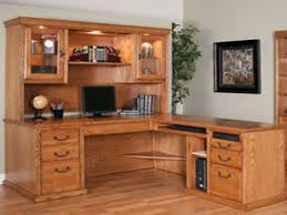 corner computer desk with hutch furniture simplicity in design makes desk suitable in any room