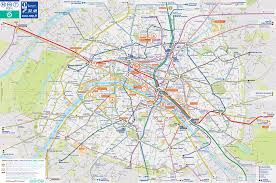 Metro Map Paris by Paris Tourist Transport Map U2022 Mapsof Net