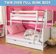 Buy Kids Bunk Beds Twin Over Twin Twin Over Full And More - Full and twin bunk bed