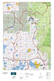 Topographical Map Of Colorado by Colorado Gmu 214 Map Mytopo