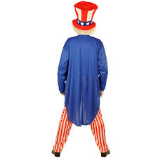patriotic halloween costumes uncle sam costume buycostumes com