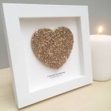 golden wedding anniversary gifts personalised golden wedding anniversary gift sweetheart by clive