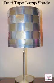 Diy Lamp Shade Duct Tape Diy Lampshade