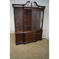 lexington furniture china cabinet lexington the palmer home collection large mahogany chippendale