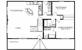 Blueprints For Small Cabins 44 By 24 House Plans Ranch House Plans From The House Designers