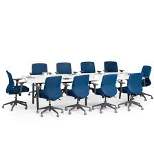 Office Meeting Table Series A Conference Table White 124