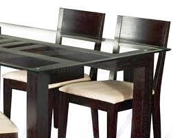 luxury elegant design of the interior dining room with black glass