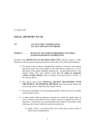bureau notarial guidelines on 2004 for notarial practice notary