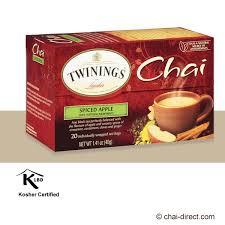 twinings chai spiced apple chai tea bags