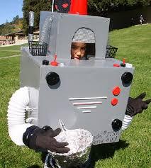 Kids Robot Halloween Costume Diy Boy Halloween Costumes