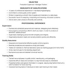 Manufacturing Supervisor Resume Download Supervisor Resume Examples Haadyaooverbayresort Com