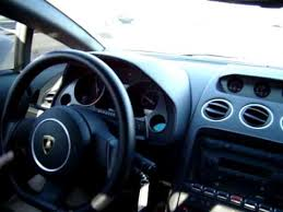 inside a lamborghini gallardo 2005 lamborghini gallardo inside driving