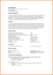 resume statements examples resume example and free resume maker