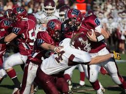 westborough takes on rival algonquin in thanksgiving day football