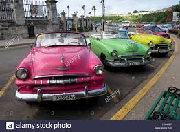 vintage cars 1950s havana cuba restored vintage american cars from the 50s in the