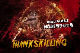 carving up some thanksgiving horror terror from beyond