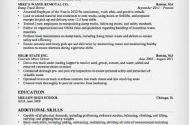 Truck Driver Resume Sample by Resume Samples Cdl Class B Driver Resume Cdl Resume Objective