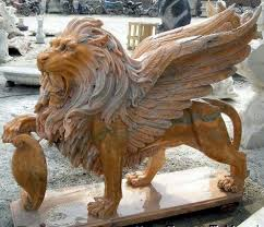 marble lions marble lion statues marble statuary carved animal