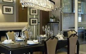 Dining Room Chandelier Lighting Rectangle Dining Room Light Spacious Modern Rectangle Dining Room