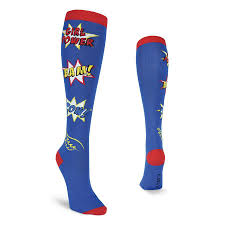 knee high halloween socks super hero socks crew socks for children