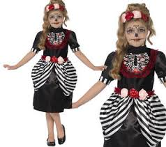 Halloween Costume Skeleton Sugar Skull Costume Skeleton Girls Halloween Fancy Dress