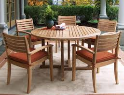 Wooden Patio Table And Chairs Wood Patio Furniture Model Information About Home Interior And