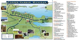 Port Huron Michigan Map by Copper Harbor