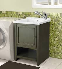 Laundry Room Cabinet With Sink Stunning Cabinet With Best Laundry Room Sink With Chrome Faucet