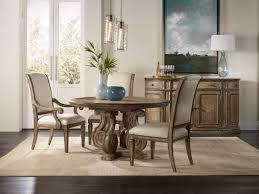 Pedestal Dining Table Hooker Furniture Dining Room Solana 54in Pedestal Dining Table W 1