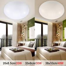 led ceiling lights dia 260mm acrylic warm white cool white 20w 30w